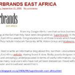 East Africa Media 2008