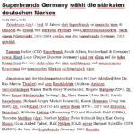 Germany Media 2005