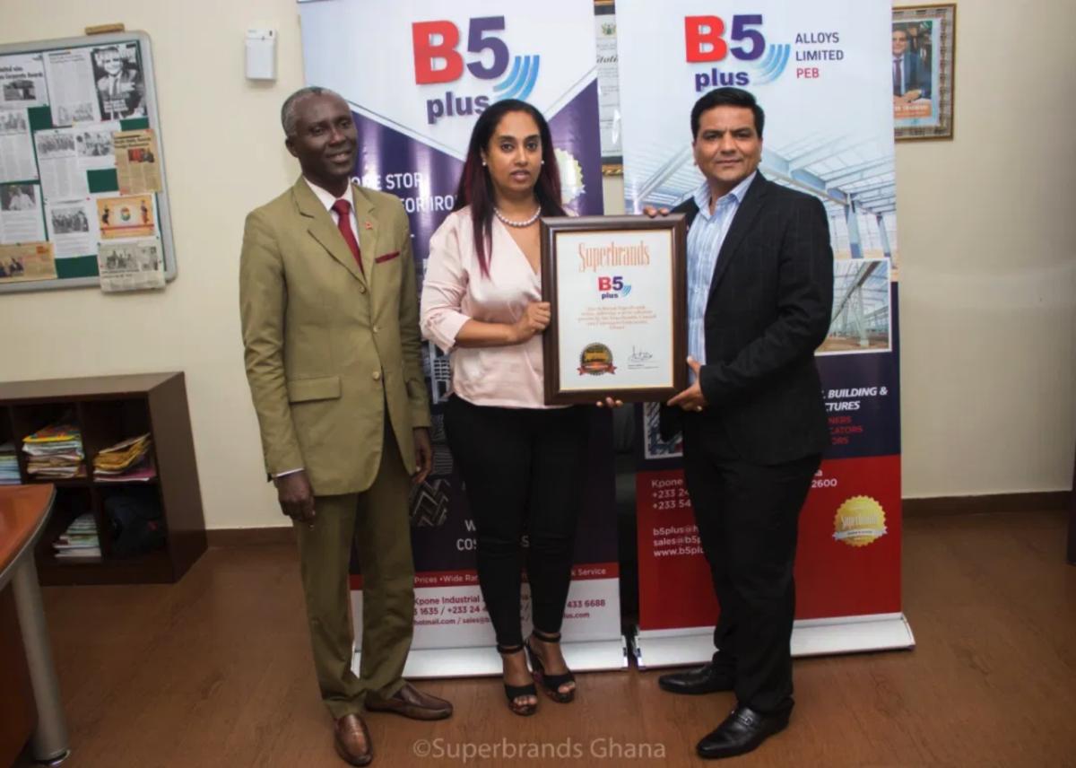 Ghana B5 Plus 2019